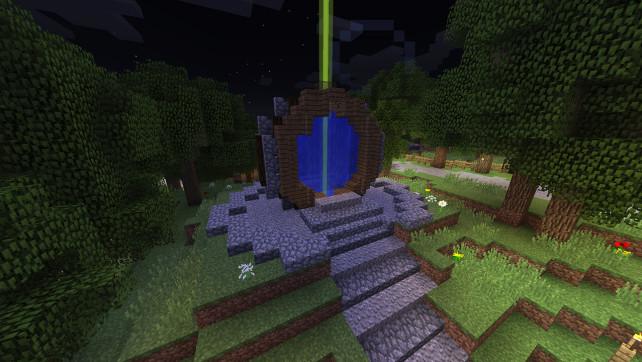 Ny portal i spawn!